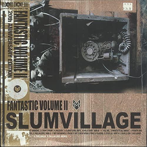 slum-village-fantastic-volume-ii-golden-pearl-splatter-vinyl-2-lp-20th-anniversary-edition-ltd-2000-rsd-2021-exclusive