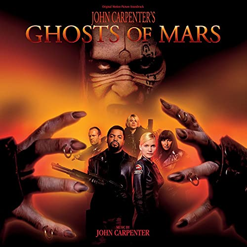 Ghosts of Mars/Original Motion Picture Soundtrack (Red Planet Vinyl)@Carpenter,John@Ltd. 2,200/RSD 2021 Exclusive