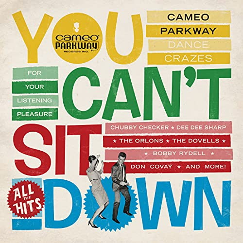you-cant-sit-down-cameo-parkway-dance-crazes-1958-1964-uk-collection-2-lp-180g-yellow-vinyl-ltd-2-000-rsd-2021-exclusive