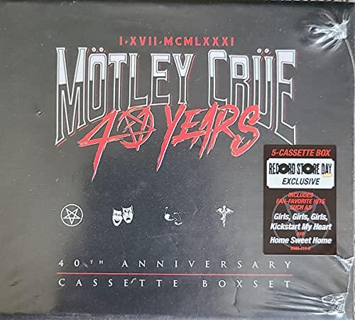 mötley-crüe-40th-anniversary-cassette-boxset-ltd-1750-rsd-2021-exclusive