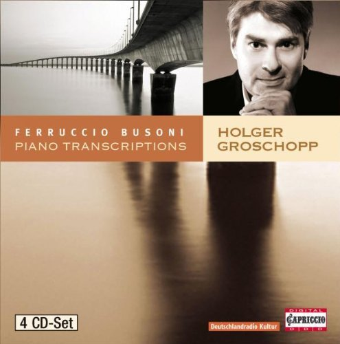 F. Busoni Piano Transcriptions Groschopp*holger (pno) 4 CD