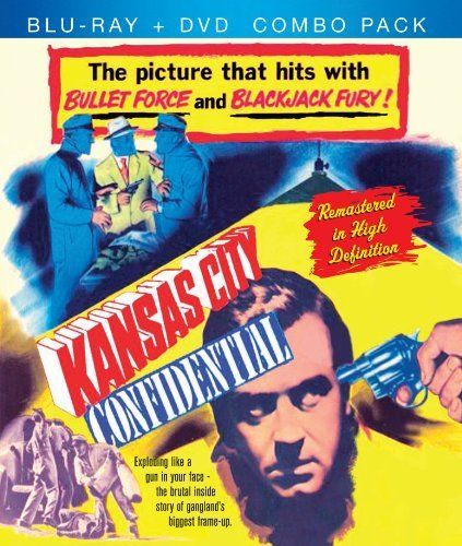 Kansas City Confidential Payne Foster Gray Van Cleef Ws Blu Ray Nr Incl. DVD