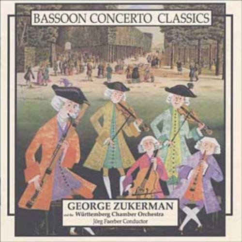 Walter Zuckerman Bassoon Concerti By Mozart Sta Zuckerman (bn)