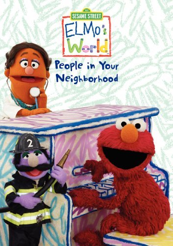 Sesame Street Elmo's World The People In Yo Nr