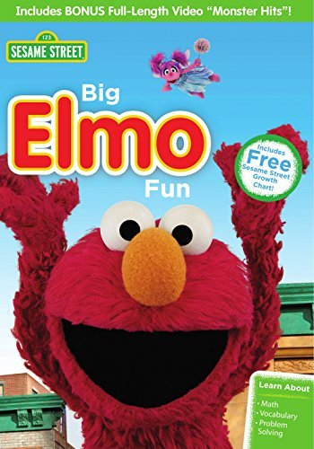 Sesame Street Big Elmo Fun DVD Nr