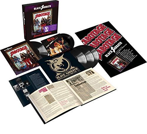 "Black Sabbath/Sabotage (Super Deluxe Edition)(4lp+7"")"