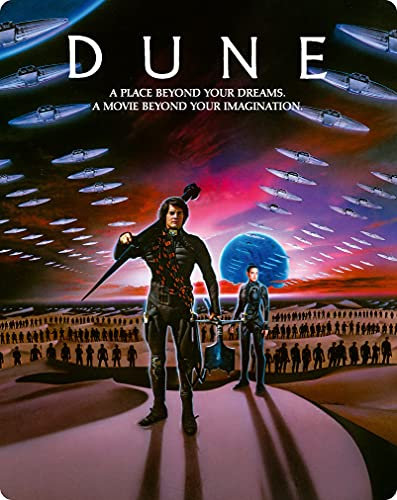 Dune (Arrow Steelbook Edition)/Maclachlan/Ferrer/Von Sydow@4KUHD@PG13