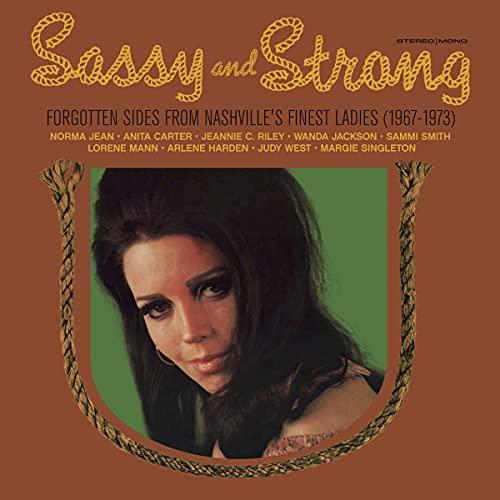 sassy-strong-forgotten-sides-from-nashvilles-finest-ladies-1967-1973-random-gold-or-black-vinyl-rsd-2021-exclusive