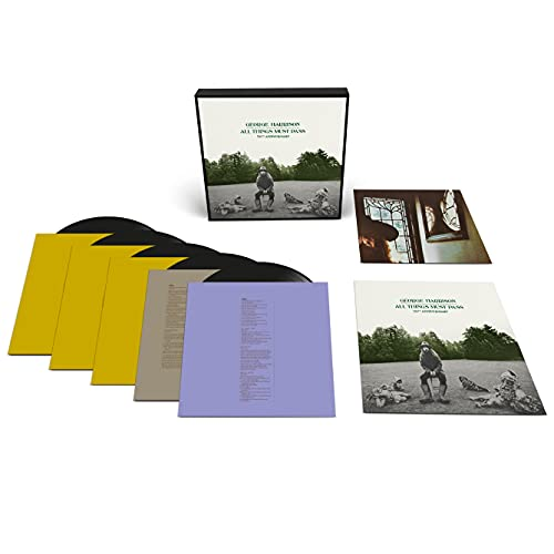 George Harrison/All Things Must Pass (Deluxe)@50th Anniversay@5 LP