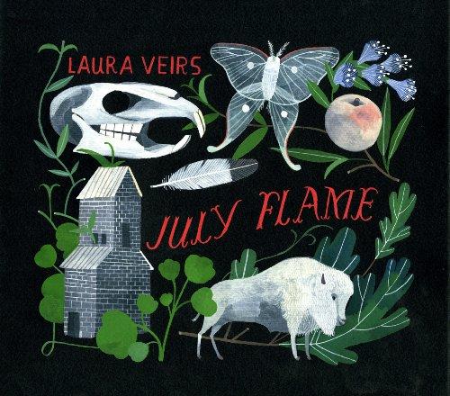 Laura Veirs/July Flame (TRANSPARENT VINYL)