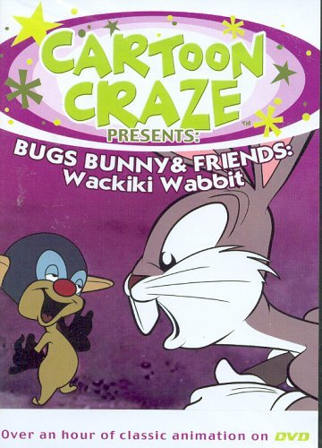 Cartoon Bugs Bunny & Friends Wackiki Wabbit [slim Case]