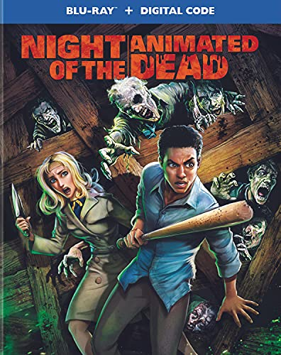Night Of The Animated Dead/Night Of The Animated Dead@Blu-Ray/Digital/2021/O-Sleeve