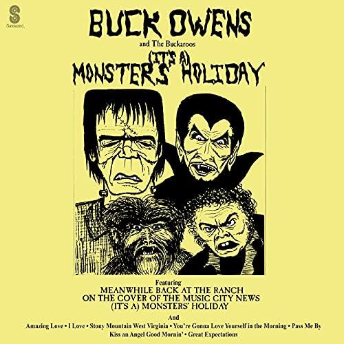 Buck Owens & His Buckaroos/(It's A) Monsters' Holiday (GREEN VINYL)