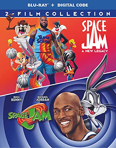 Space Jam/Space Jam-A New Legacy/Double Feature@Blu-Ray/DVD/Digital/2021/2 Disc/2 Film