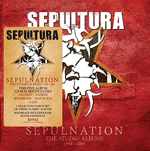 Sepultura/Sepulnation - The Studio Albums 1998 - 2009@8 Discs