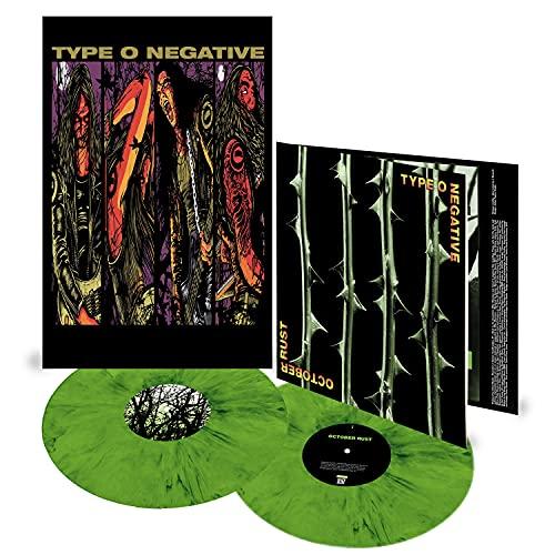 Type O Negative/October Rust 25th Anniversary Edition (Green & Black Mixed Vinyl)