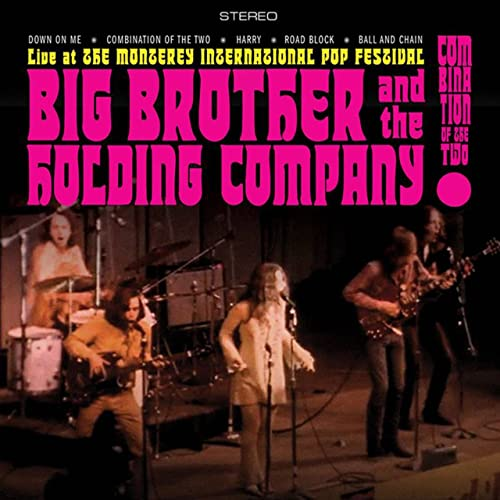 Big Brother & The Holding Company (featuring Janis Joplin)/Combination of the Two: Live at the Monterey International Pop Festval (Psychedelic Color Vinyl)@RSD Black Friday Exclusive