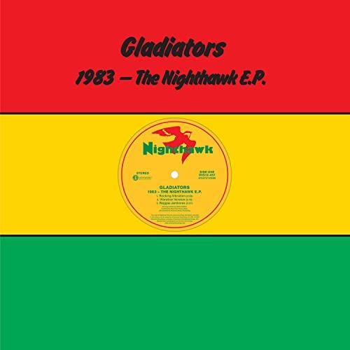 Gladiators/1983 - THE NIGHTHAWK E.P. (Splatter Vinyl)@RSD Black Friday Exclusive/Ltd. 2000