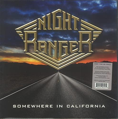 Night Ranger/Somewhere In California (Pacific Blue Vinyl)@RSD Black Friday Exclusive/Ltd. 1000