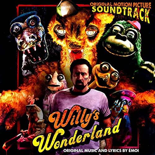 Willy's Wonderland/Original Motion Picture Soundtrack (Orange/Red Swirl Vinyl)@180G@RSD Black Friday Exclusive