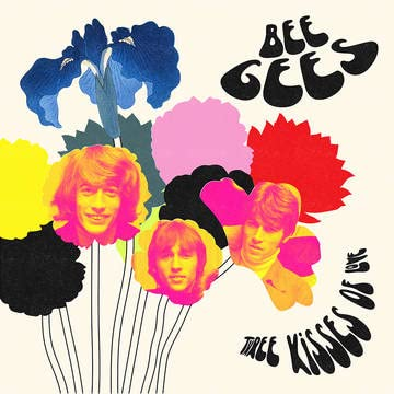 Bee Gees/Three Kisses Of Love (Red Vinyl)@180g/Numbered@RSD Black Friday Exclusive/Ltd. 1000 USA
