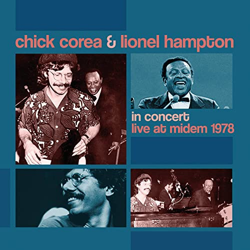 Chick Corea & Lionel Hampton/In Concert: Live at MIDEM '78 (Trans-Crystal Vinyl)@180g/Numbered@RSD Black Friday Exclusive/Ltd. 1000 USA