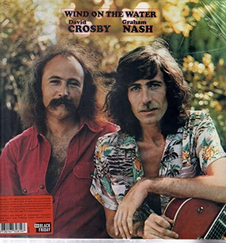 David Crosby & Graham Nash/Wind On The Water (Trans-Orange Vinyl)@180g/Numbered@RSD Black Friday Exclusive/Ltd. 1000 USA