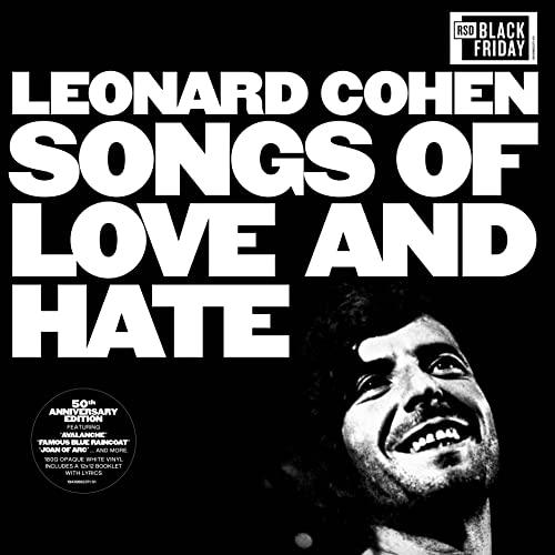 Leonard Cohen/Songs Of Love & Hate (White Vinyl)@50th Anniversary@RSD Black Friday Exclusive/Ltd. 5000 USA