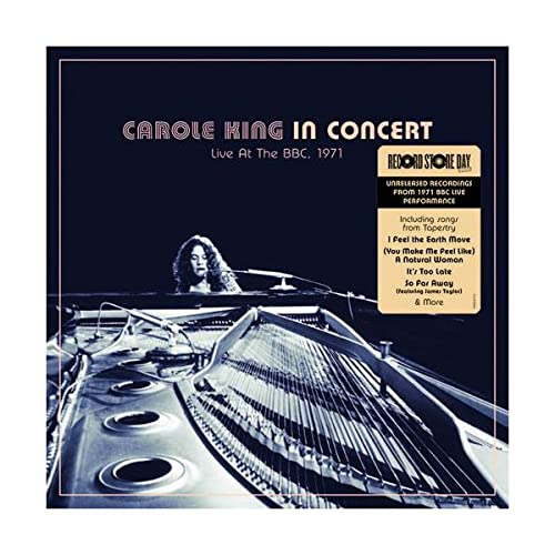 Carole King/BBC Live Performance (1971)@RSD Black Friday Exclusive/Ltd. 6550 USA
