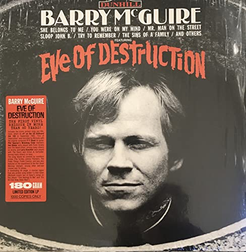 Barry McGuire/Eve Of Destruction@180G@RSD Black Friday Exclusive/Ltd. 1500 USA