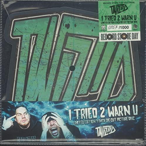 Twiztid/I Tried 2 Warn U (Die-Cut Picture Disc)@RSD Black Friday Exclusive/Ltd. 1000 USA