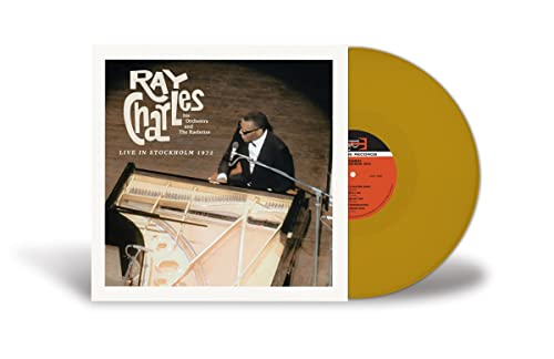 Ray Charles/Live In Stockhol 1972 (Color Vinyl)@RSD Black Friday Exclusive/Ltd. 2000 USA