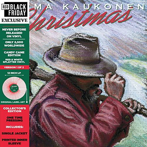 "Jorma Kaukonen/Christmas… ""Candy Cane Edition"" (2 of 2 versions) (Color Vinyl)@RSD Black Friday Exclusive/Ltd. 2500 USA"