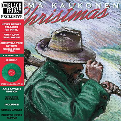 "Jorma Kaukonen/Christmas… ""Christmas Tree Edition"" (1 of 2 versions) (Color Vinyl)@RSD Black Friday Exclusive/Ltd. 2500 USA"