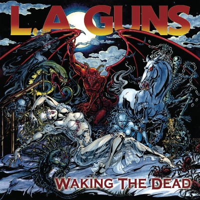 L.A. Guns/Walking The Dead (Red/Yellow Color in Color Vinyl)@RSD Black Friday Exclusive/Ltd. 1200 USA