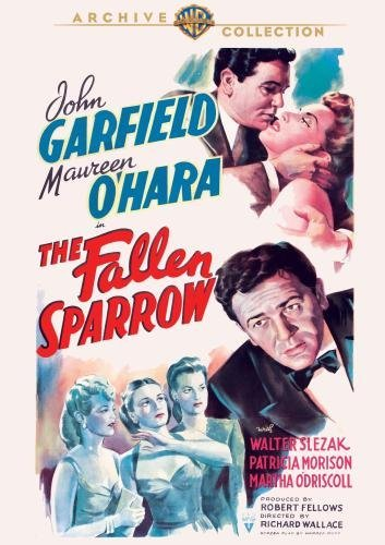 Fallen Sparrow Garfield O'hara Slezak DVD Mod This Item Is Made On Demand Could Take 2 3 Weeks For Delivery