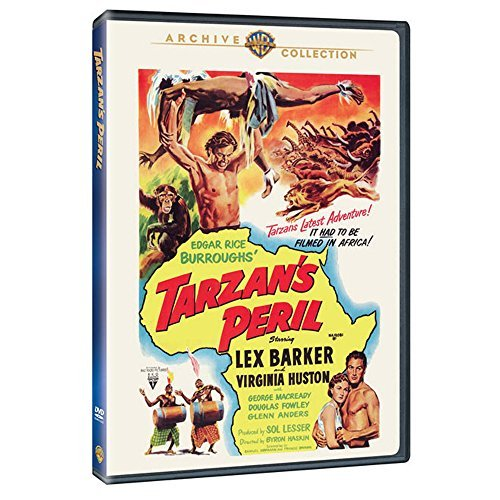Tarzan's Peril Barker Huston Macready DVD Mod This Item Is Made On Demand Could Take 2 3 Weeks For Delivery