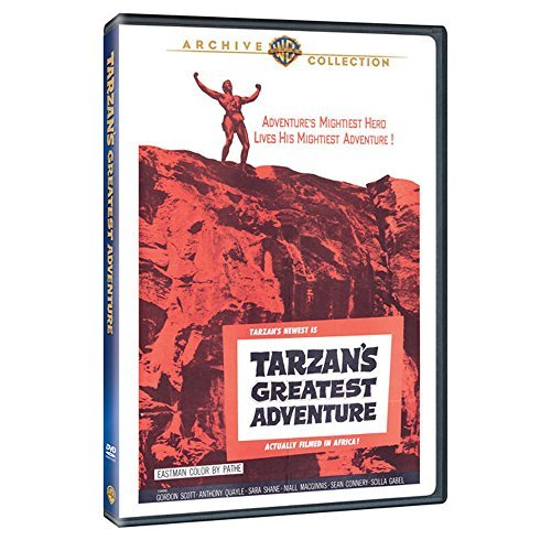 Tarzan's Greatest Adventures Scott Quayle Shane DVD Mod This Item Is Made On Demand Could Take 2 3 Weeks For Delivery