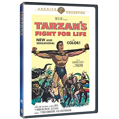 Tarzan's Fight For Life Scott Brent Sorensen Ws DVD R Nr