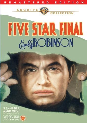Five Star Final (remastered) Robinson Warner Marsh DVD Mod This Item Is Made On Demand Could Take 2 3 Weeks For Delivery