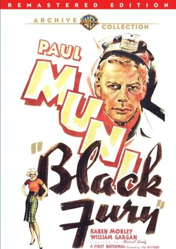 Black Fury (remastered) Muni Morley Gargan DVD Mod This Item Is Made On Demand Could Take 2 3 Weeks For Delivery