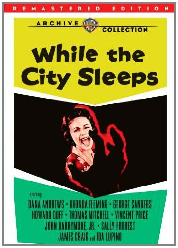 While The City Sleeps Andrews Fleming Sanders Bw Ws DVD R Remastered Nr