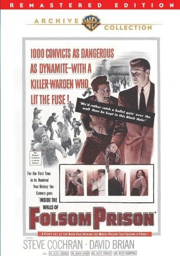 Inside The Walls Of Folsom Pri Cochran Brian Carey Bw DVD R Nr