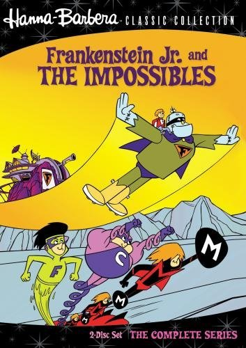 Frankenstein Jr. & The Impossibles The Complete Series DVD Mod This Item Is Made On Demand Could Take 2 3 Weeks For Delivery