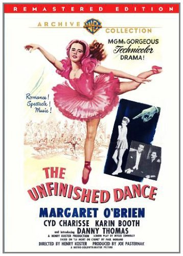 Unfinished Dance O'brien Charisse Booth DVD Mod This Item Is Made On Demand Could Take 2 3 Weeks For Delivery