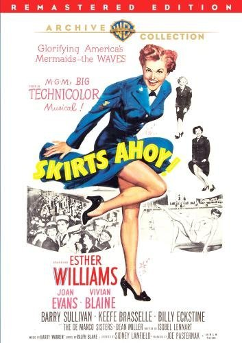 Skirts Ahoy (remastered) Williams Sullivan Brasselle DVD R Nr