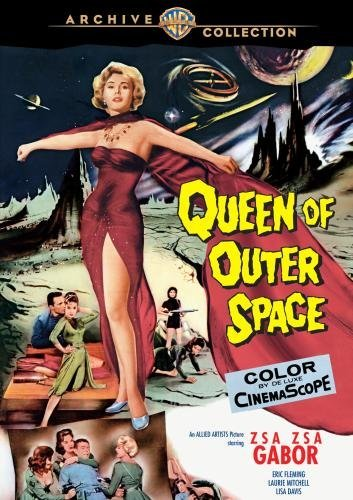 Queen Of Outer Space Gabor Davis DVD Mod This Item Is Made On Demand Could Take 2 3 Weeks For Delivery