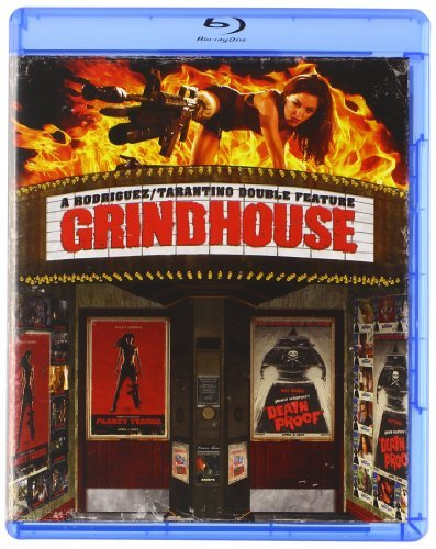 Death Proof Planet Terror Grindhouse Special Edition Double Feature Blu Ray R
