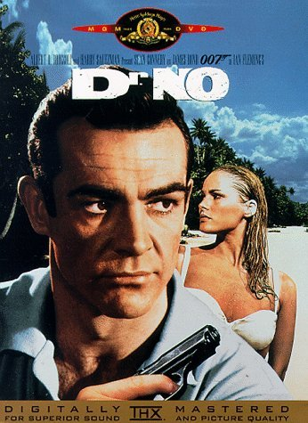James Bond Dr. No Connery Andress