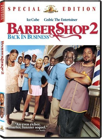 Barbershop 2 Ice Cube Cedric The Entertaine Clr Ws Pg13